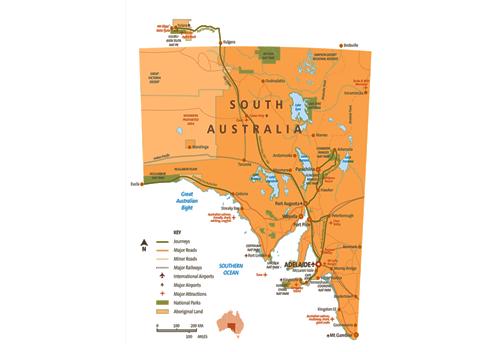 South Australia  Adelaide, Kangaroo Island