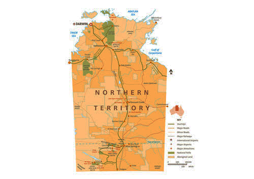 The Northern Territory: The Top End and the Red Centre